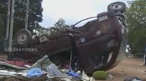 Accident in Ismaayil pura area