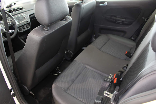 Novo VW Gol 2019 - interior - espaço traseiro