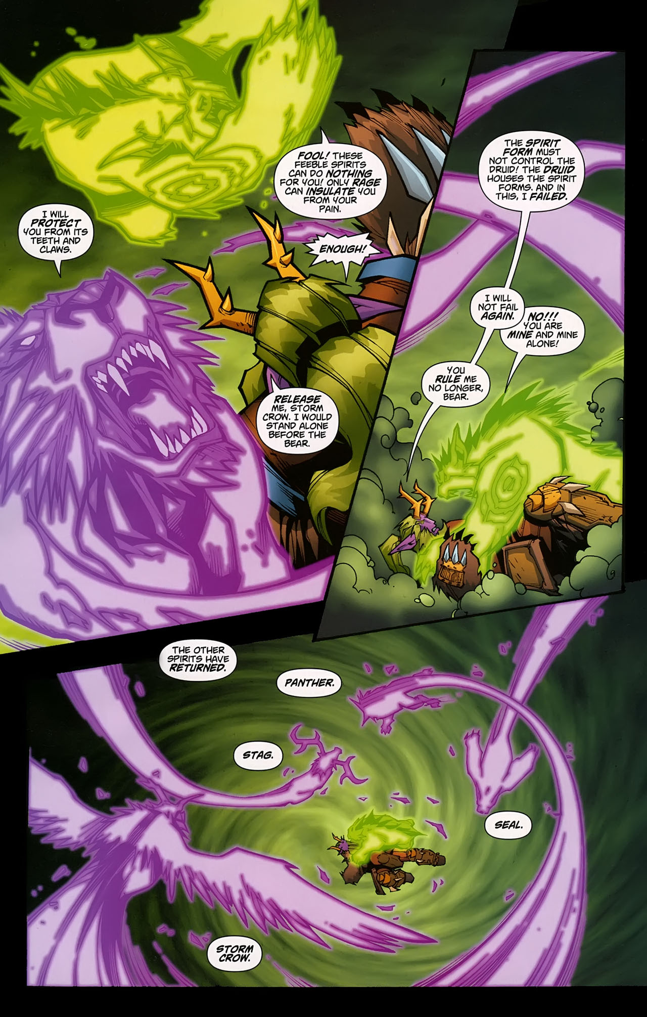 Read online World of Warcraft comic -  Issue #5 - 19