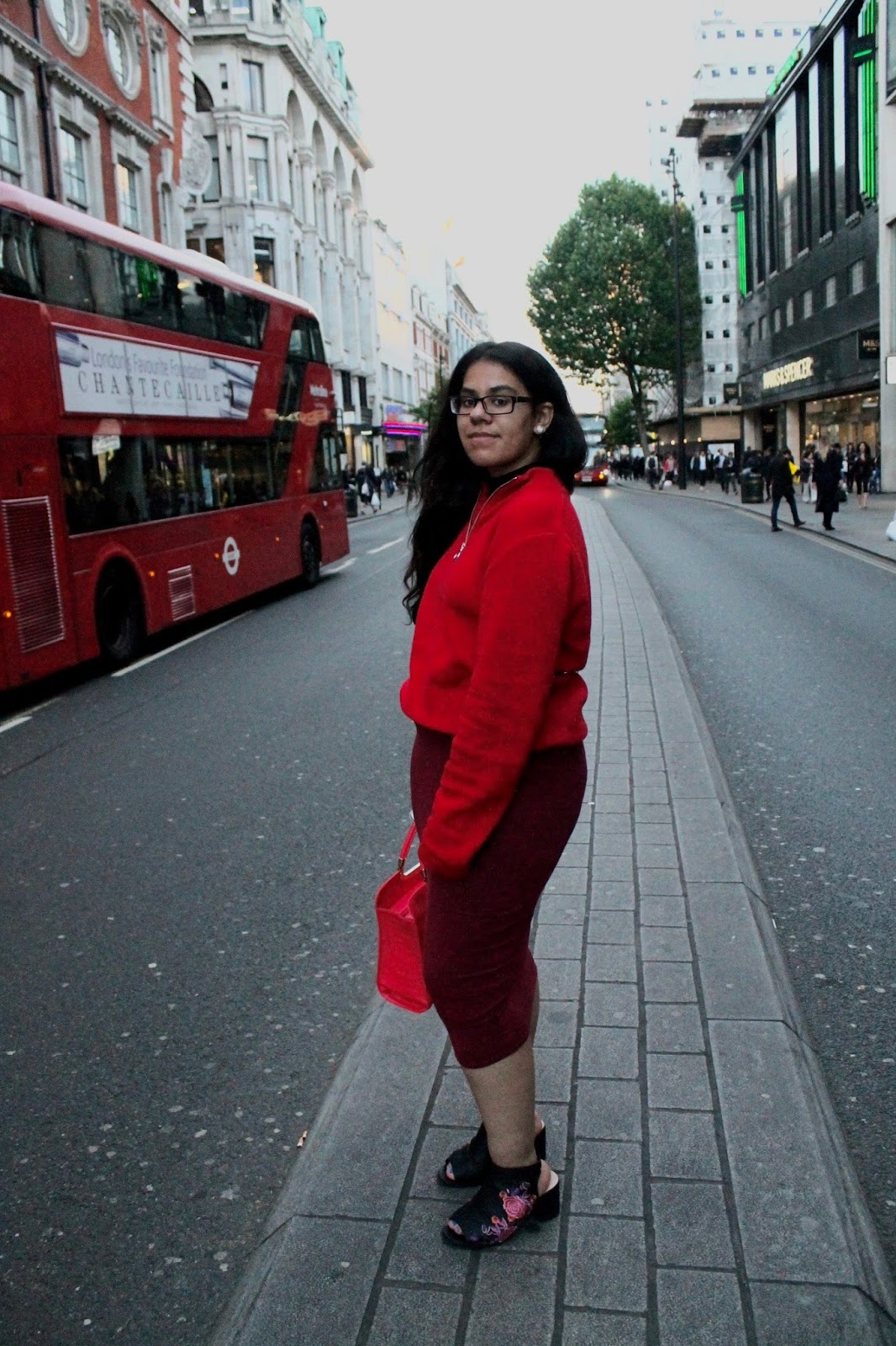 Outfit Colour Inspiration In London