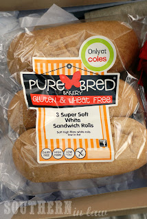 Pure Bred Gluten Free White Bread Rolls