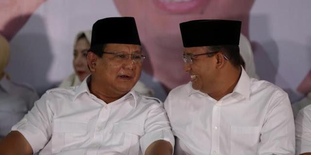 Prabowo - Anies Baswedan