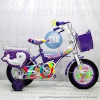 Sepeda Anak Erminio 2208 Dolphin 12 Inci