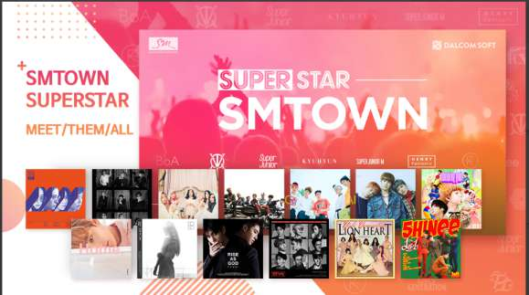Game Musik Korea Android SuperStar SMTOWN APK