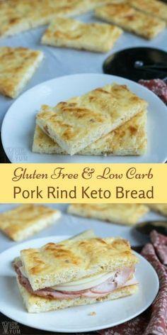 Pork Rind Nearly No Carb Keto Bread