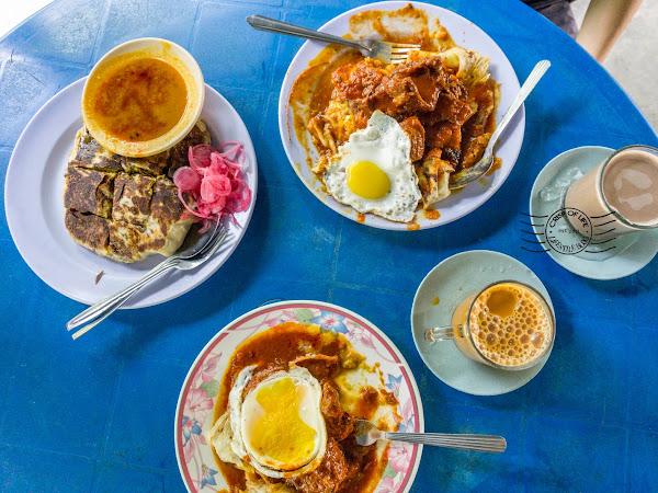 Roti Canai & Nasi Melayu Mat Dusun @ Sungai Ara, Penang