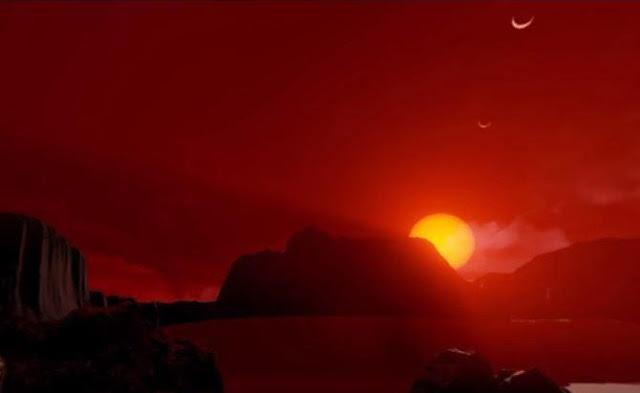 Trappist-1d in Nasa's virtual 3d tour