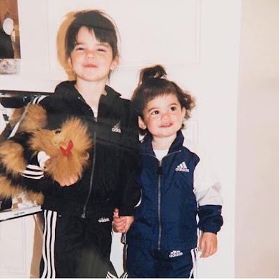 Kylie and Kendall Jenner childhood photos