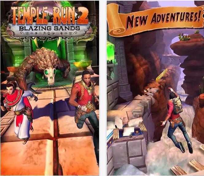 Temple Run 2 Blazing Sands Update INFO + Download Links