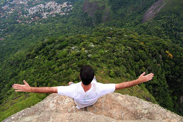 Rio de Janeiro, trilha, pedra da gavea, carrasqueira, perigo, vista, visual, cadeirinha, abismo, penhasco, nikon d5000