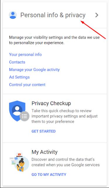 حذف حساب جوجل بعد الموت