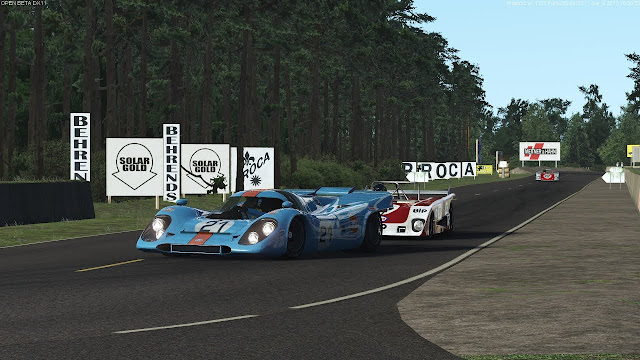 Le Mans 24 hours virtual race