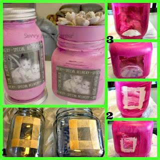 Picture Frame Jars