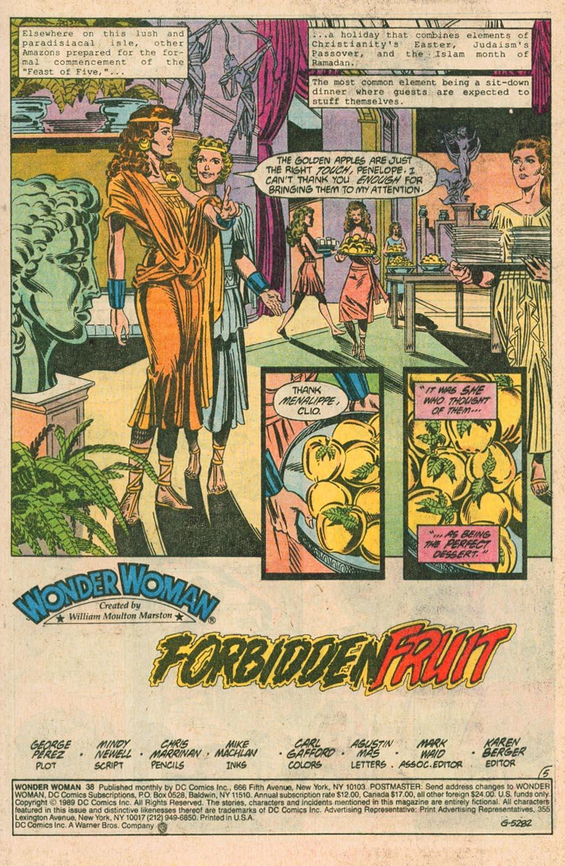 Read online Wonder Woman (1987) comic -  Issue #38 - 6