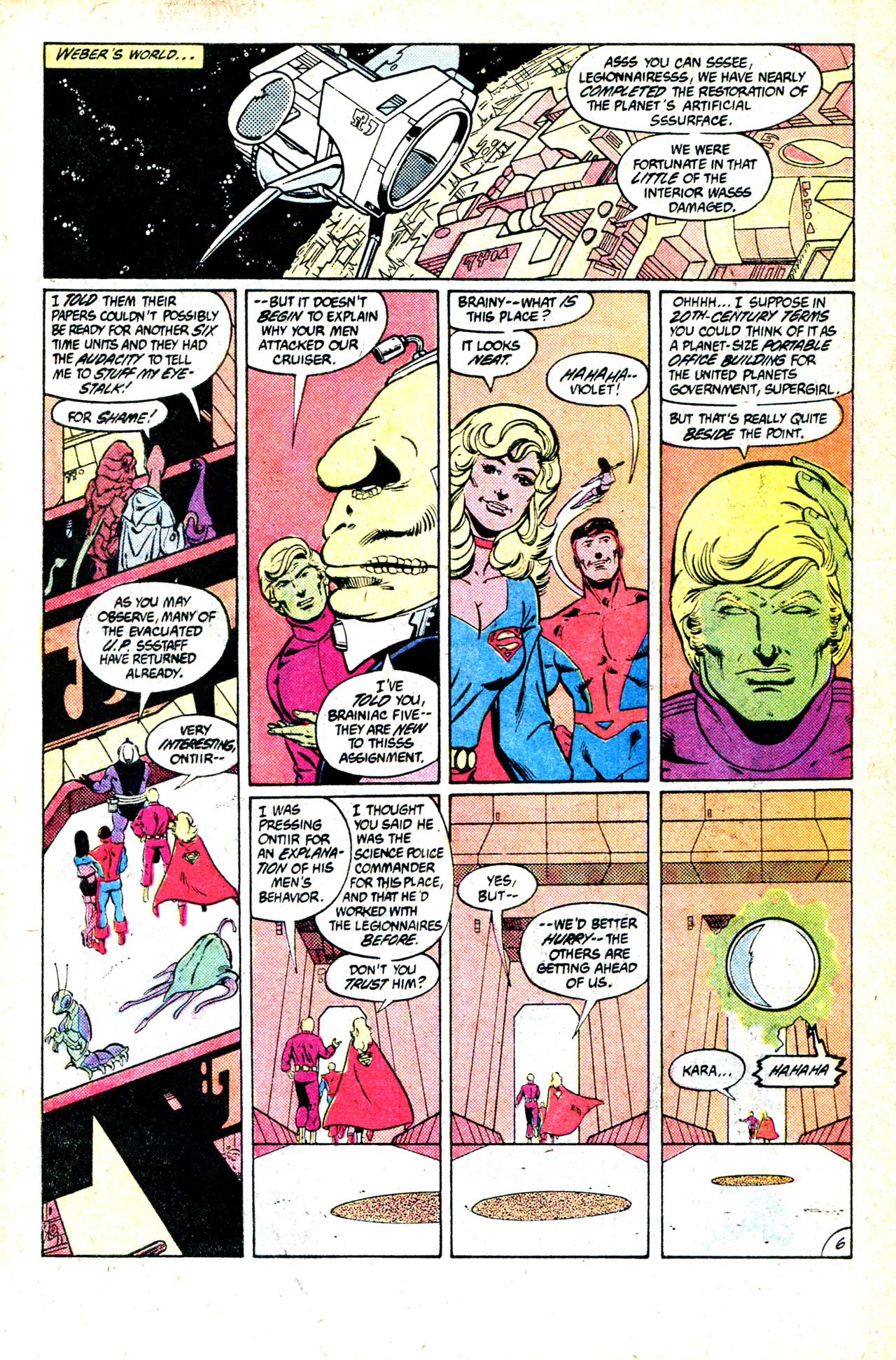Legion of Super-Heroes (1980) 302 Page 9