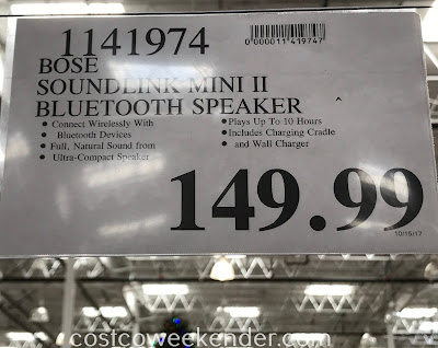 Deal for the Bose SoundLink Mini II Speaker at Costco