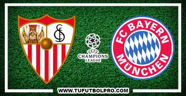 Ver Sevilla vs Bayern Munich EN VIVO Por Internet Hoy 3 de abril de 2018
