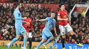 مانشستر يونايتد يسقط على ملعبه من امام فريق بيرنلي بثنائية في الدوري الانجليزي