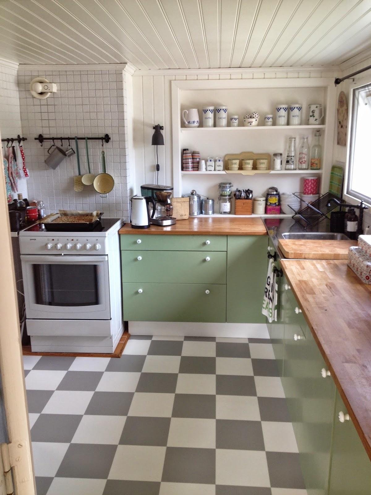 samma golv i kok och hall ~ interiörinspiration och idéer för hemdesign