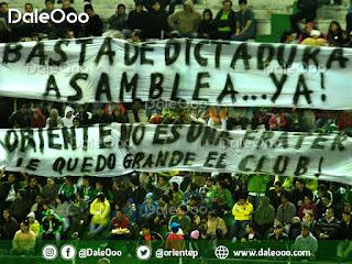 """Pancartas en contra del Presidente de Oriente Petrolero José Ernesto """"Keko"""" Álvarez - DaleOoo"""