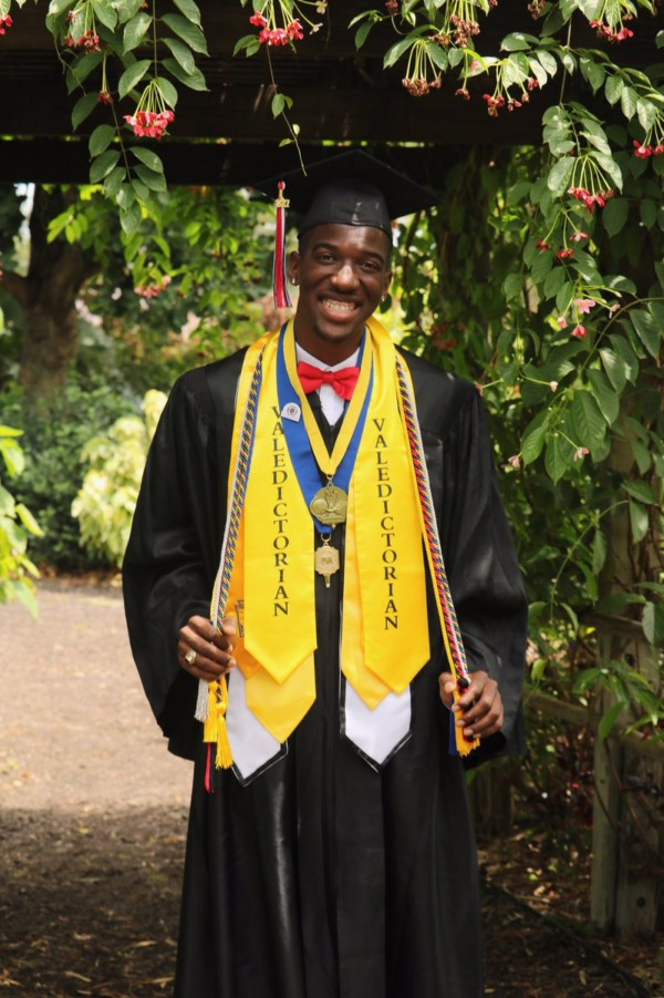 This High School Graduate was Class President, Basketball Captain & Valedictorian. Inspiring!