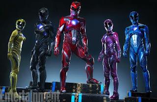 """Primera imagen de los trajes de la película """"Power Rangers"""""""