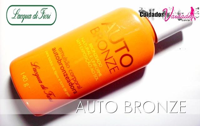 Auto Bronze Autobronzeador L'acqua di Fiori