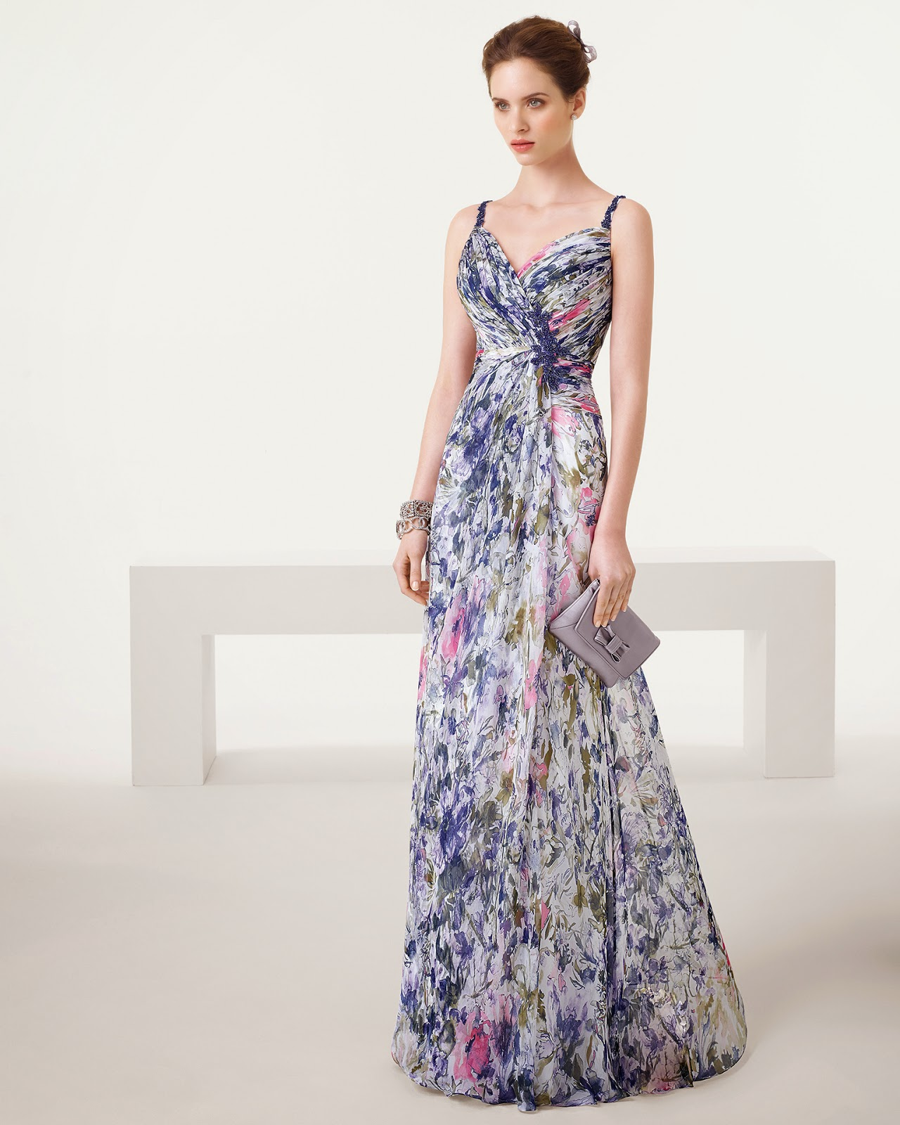 Havuz Başı Gece Elbisesi Modelleri 2019