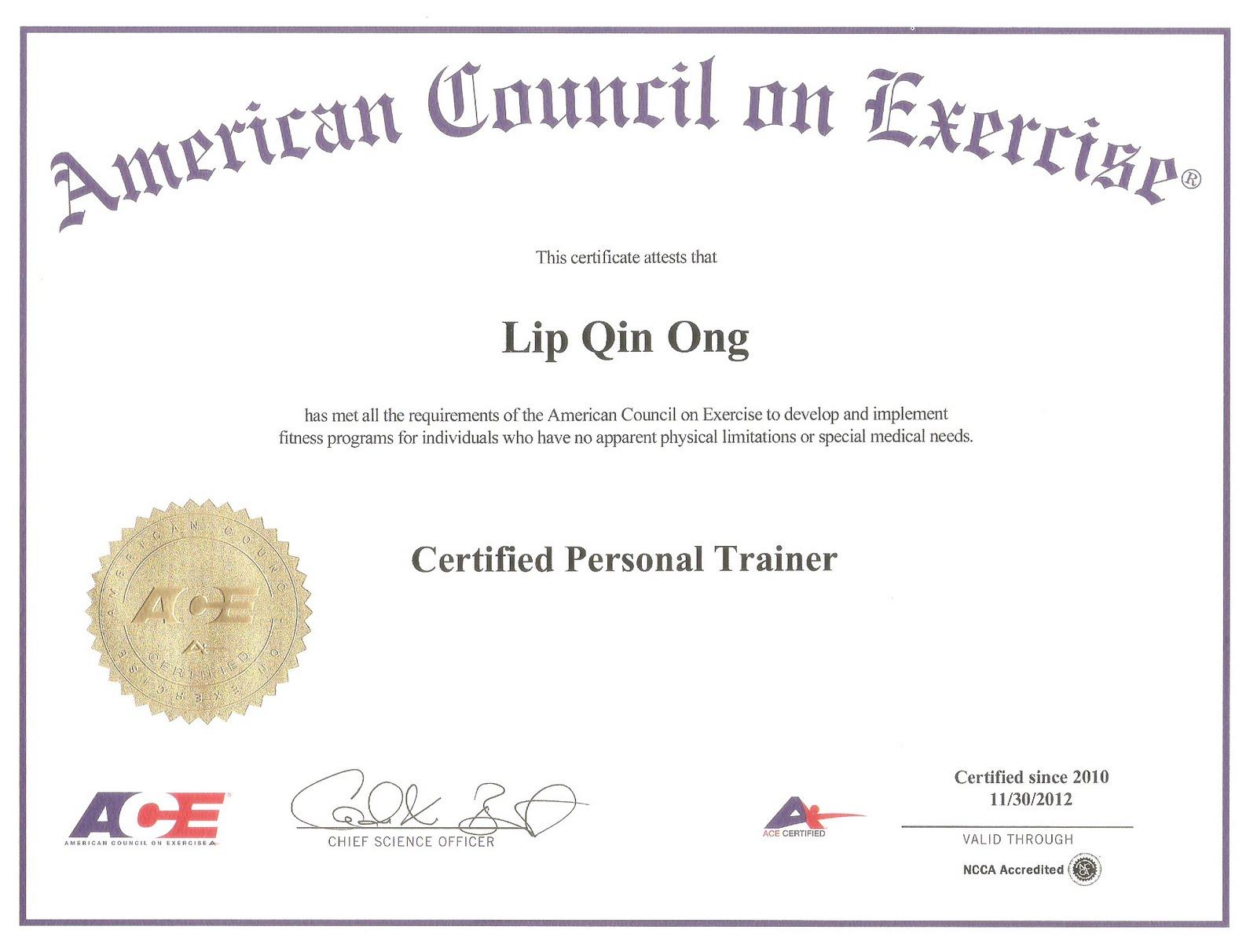 Certificate Programs Fitness Certification Programs