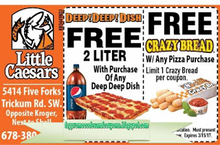 photograph about Little Caesars Printable Application titled No cost Promo Codes and Discount codes 2019: Very little Caesars Discount coupons