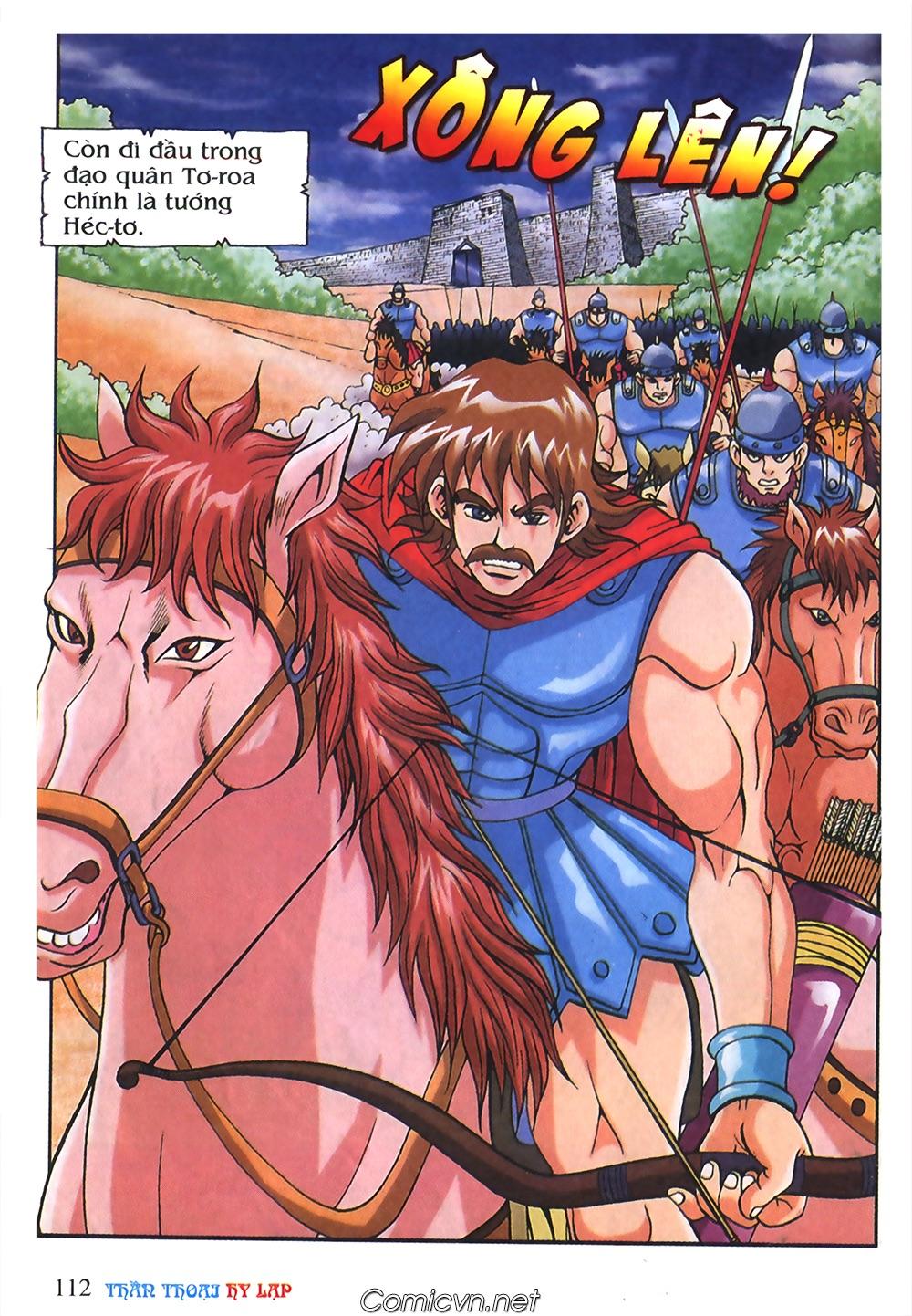 Thần Thoại Hy Lạp Màu - Chapter 55: Trận chiến đầu tiên - Pic 16