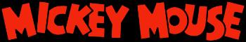 Mickey Mouse - título
