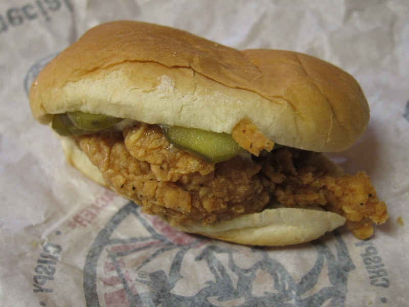 Review: KFC - New Chicken Littles Sandwich | Brand Eating - photo#10