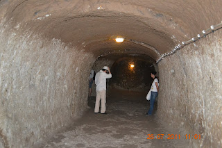 cidade subterranea de Derinkuyu - capadocia