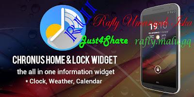 Chronus PRO: Home & Lock Widget v5.12 RC Apk