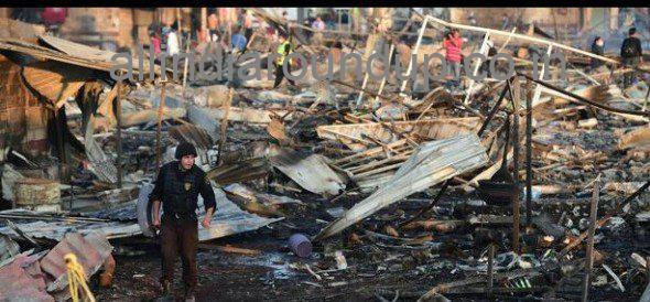 Fireworks market blast in Mexico Tultepec 29 People kills