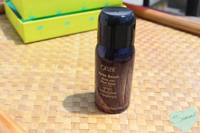 ORIBE | Apres Beach Wave and Shine Spray - Birchbox July 2015 Review Beach & Bright | Oribe Apres Beach Wave and Shine Spray