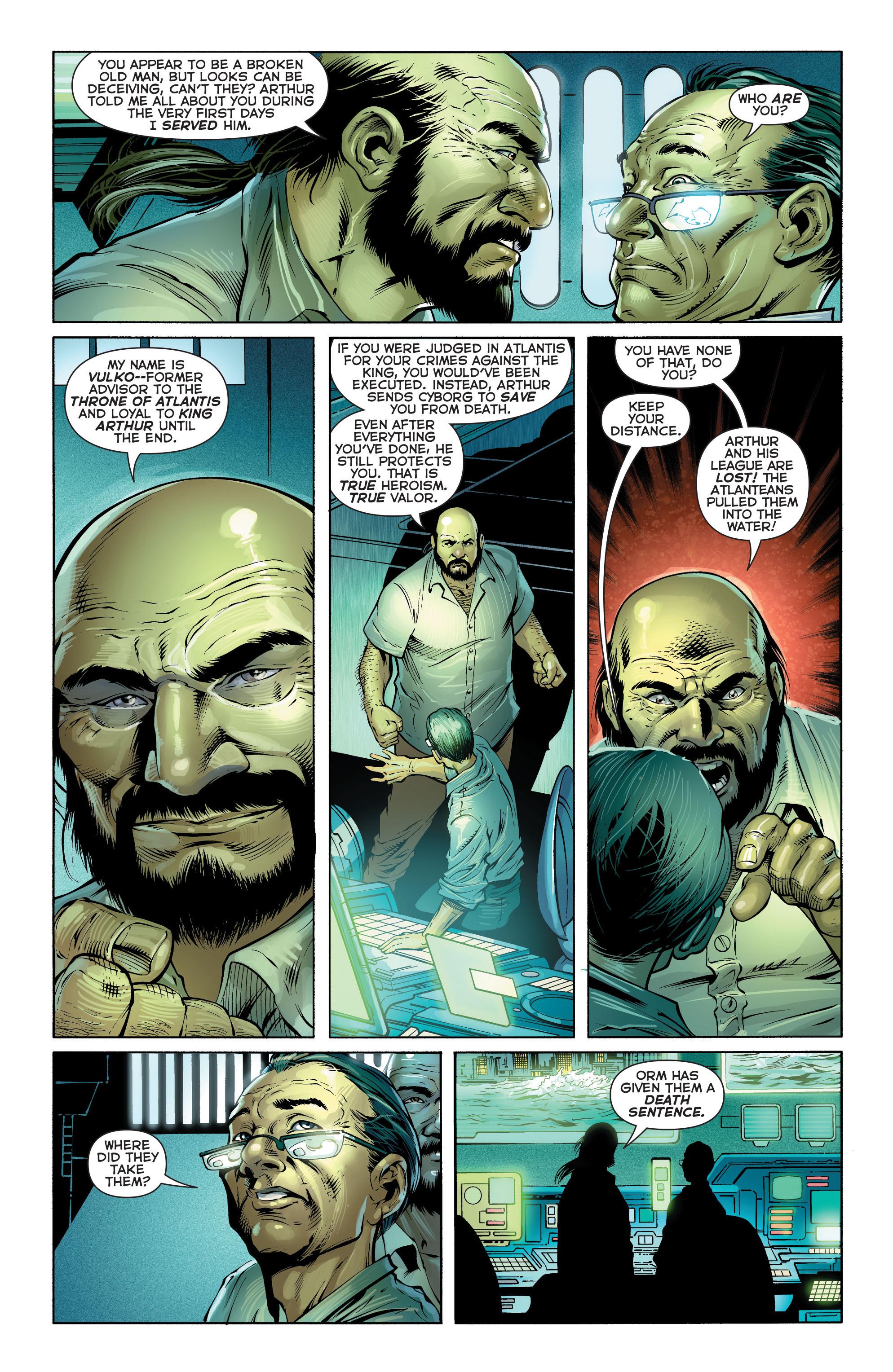 Read online Aquaman (2011) comic -  Issue #16 - 5
