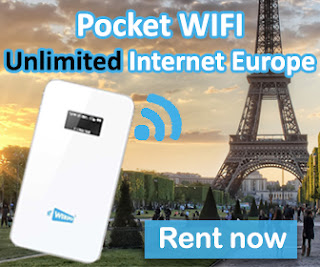Pocket wifi Europe with Unlimited internet