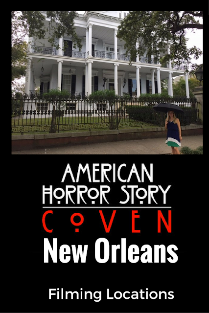 American Horror Story Coven Season 3 New Orleans Filming Locations Tour