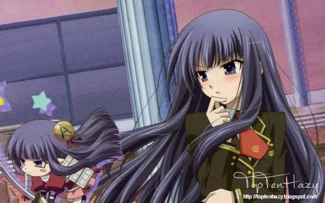 Shouko Kirishima (Baka and test) 10 yandere nổi tiếng trong anime