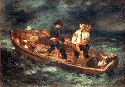 E. Delacroix, Despues del naufragio