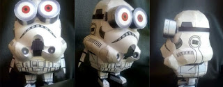 Star Wars Papercraft Storminion
