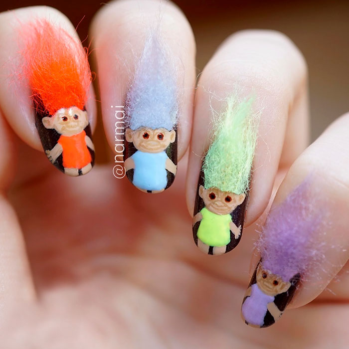 The Beautiful,Creative,Amazing And Gorgeous,Furry Nails is The ...