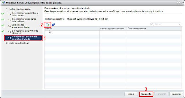 VMware 6.5.0: Crear plantilla y desplegar una nueva máquina virtual.