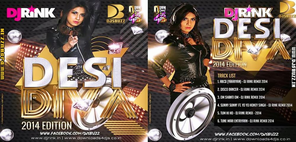 DESI DIVA 2014 EDITION BY DJ RINK