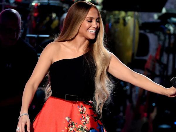 Look de Jennifer Lopez em Los Angels
