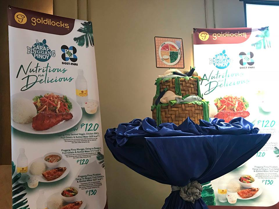 Count your calories at goldilocks pinggang pinoy meals forumfinder Image collections
