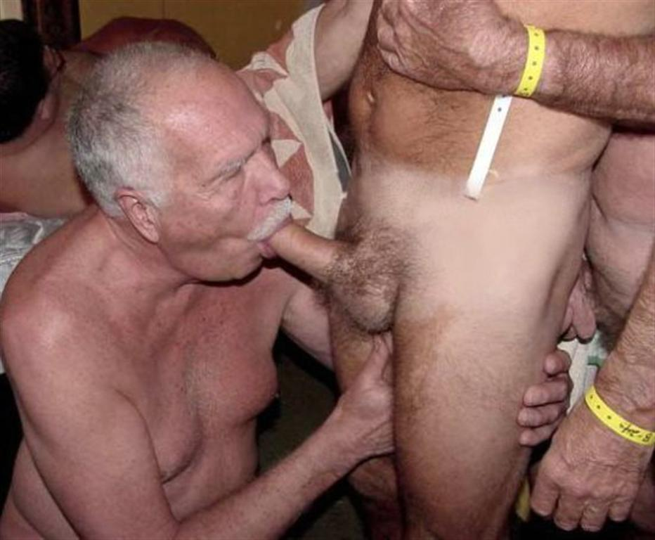 Gay old handjob sey