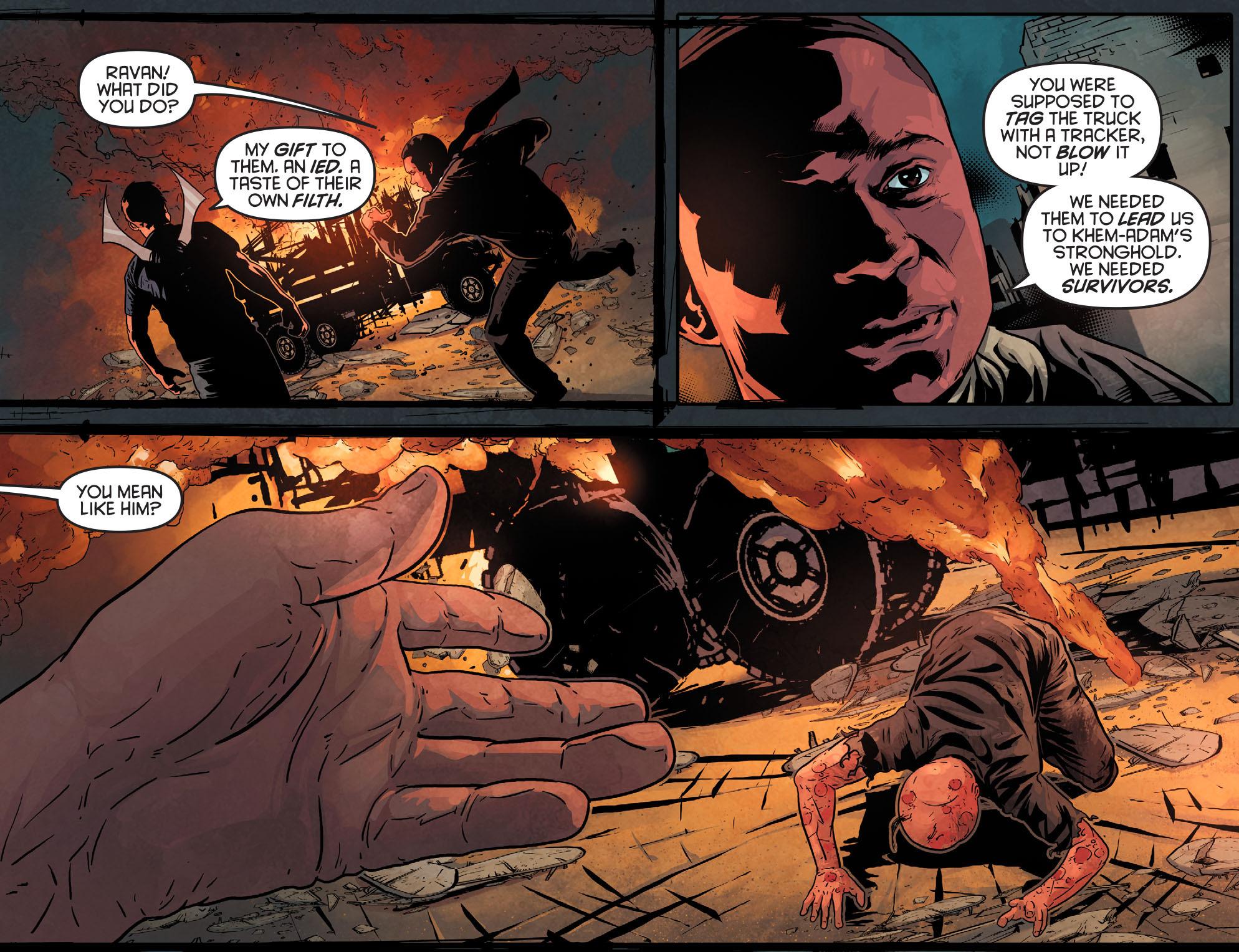 Read online Arrow: Season 2.5 [I] comic -  Issue #11 - 19